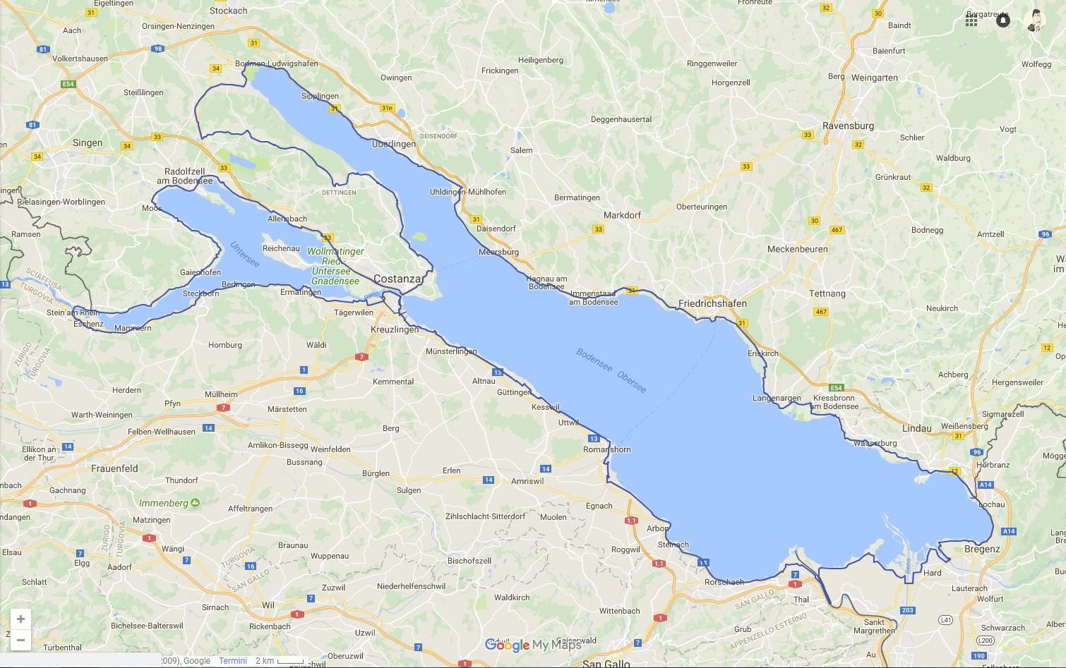 Lago Di Costanza Germania Cartina.Il Lago Di Costanza In Bicicletta Giorno 1 Partenza Da Costanza Nicola Pfund